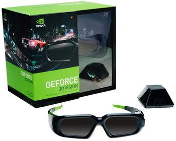 okulary 3D aktywne marki nVidia