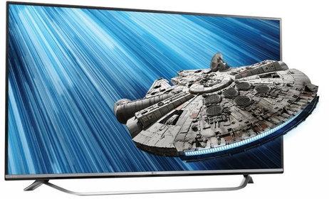 telewizor led LG 55UF8007 o przekątnej 55 cali