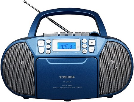 przenośny radiomagnetofon boombox Toshiba